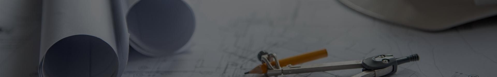 Cyrkiel na projektach architektonicznych
